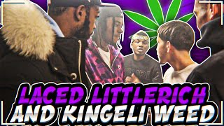I TOLD LITTLERICHH AND KING ELI THE BLUNT WAS LACED PRANK!!! *GONE WRONG*