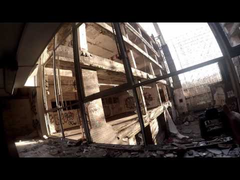 Gray and Dunn Biscuit Factory abandoned Glasgow Scotland URBEX gopro body cam