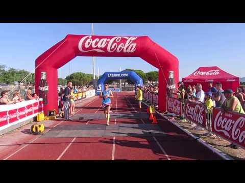 Vídeo d'arribada del primer classificat cursa 10km