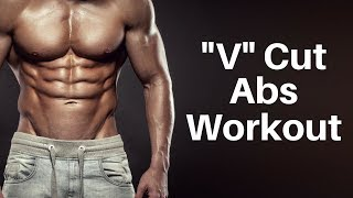 V Cut Abs Workout (NO EQUIPMENT NEEDED!) by V Shred