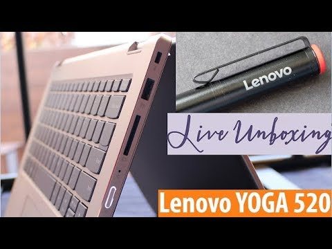 Lenovo Yoga 520-14ikb Unboxing | Review | Touch Screen | 360°