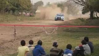 preview picture of video 'Rally de Goya 2010 PE 2 La Bolsa-Lavalle'