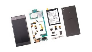 Sony Xperia Z5 Dual Disassembly/Teardown