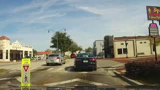 Driving Through Downtown Kissimmee, Florida