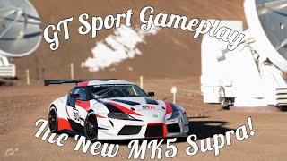 GT Sport Toyota Supra MK5 Gameplay! Absolute Beast