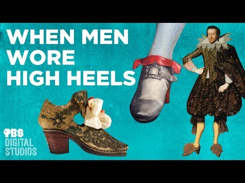 "When Men Wore High Heels (2018) - ""The history of high heels, and why they were originally seen as a marker of an epic masculinity, worn by warriors, kings and noblemen"""