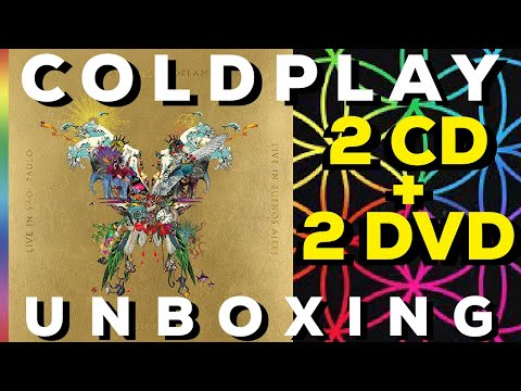 "UNBOXED: Coldplay ""The Butterfly Package: A Head Full Of Dreams + Live CD & DVD"""