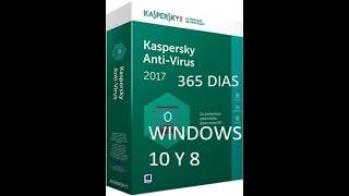 Como Descargar E Instalar  Antivirus KASPERSKY 2018 Con 365 Dias  - Para Windows 10 Y 8