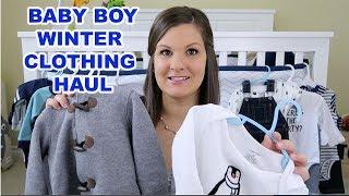 WINTER BABY BOY CLOTHING HAUL