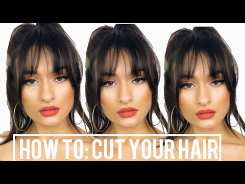 HOW TO CUT A FRINGE/BANGS AT HOME Mp3