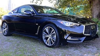 2017 Infiniti Q60 Review--STYLE AND POWER VALUE