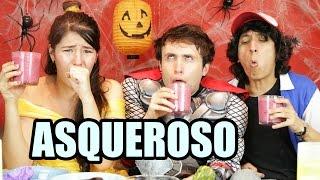 RETO | RETOS EXTREMOS LICUADO ASQUEROSO | #SEMANADELTERROR | ALEX BROWN | HEY BROWN