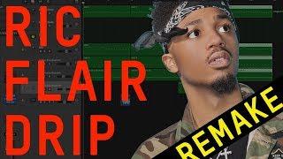Making A Beat: Offset & Metro Boomin   Ric Flair Drip (Remake)