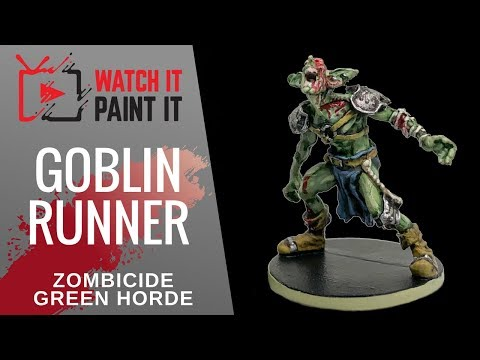 Zombicide Green Horde - Painting Goblin Runners