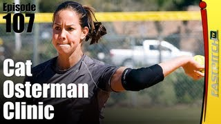 Cat Osterman Fastpitch Softball Pitching Clinic