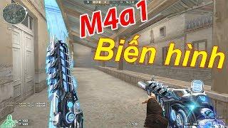 M4A1-S Rifle Knife  Súng Biến Hình Siêu Bựa  :  Anh Da Gia CF