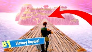 HOW TO GET TO THE SECRET ISLAND! (FORTNITE)