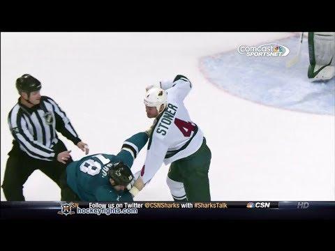 Clayton Stoner vs Mike Brown