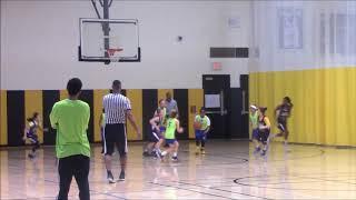 JKMBA Jaguars 5th grade girls AAU  Basketball - Team Miller Tournament Highlights Mar 31 2018