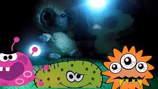 Мультфильм про Бактерии. Страшные Бактерии против Сёмы и Фомы. Бактерии нападают. Серия №7