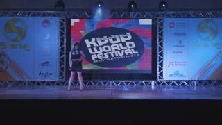K-POP WORLD FESTIVAL 2016 - BRAZIL   CIBELLE BARROS (SPICA - YOU DON'T LOVE ME)