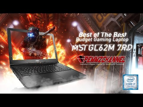 Review MSI GL62m 7RD - i7 7700HQ + GTX 1050, Seng ada lawan....!!! (In Bahasa)