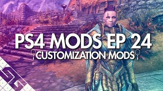 Best Skyrim Customization // Face Mods! PS4!