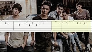Quisiera - CNCO/Tutorial guitarra(Melodia)/Tablatura