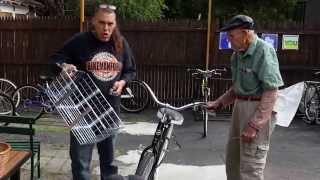 """World's Largest Bicycle Basket"" - A BikemanforU Delivery - Wald USA"
