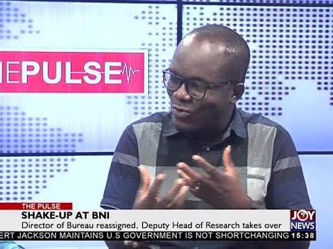 Shake-Up at BNI - The Pulse on JoyNews (29-3-18)