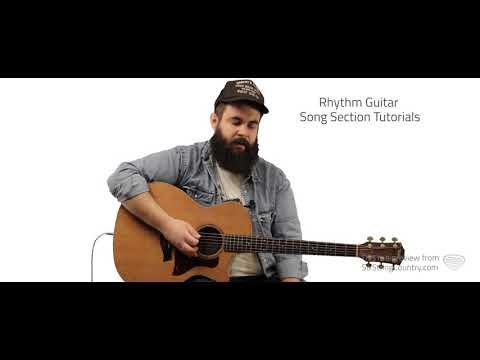 Whiskey Glasses Guitar Lesson - Morgan Wallen