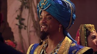 Watch Will Smith Get Into Character As Genie On The Set Of Aladdin