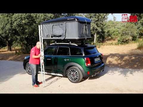 VÍDEO: Probamos la tienda de campaña del Mini Cooper S Countryman