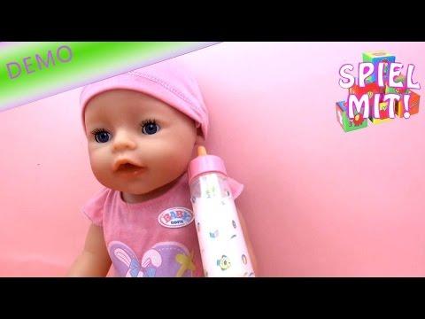 baby born interactive - Zauberfläschchen für Puppen  / Magisches Milchfläschchen / Baby füttern