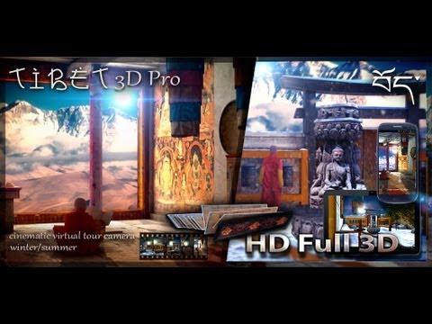 Vídeo do Tibet 3D Pro