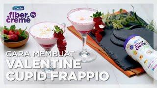 Minuman ala Cafe Untuk Valentine Bareng Doi Bisa dibuat sendiri. GAMPANG! – Valentine Cupid Frappio