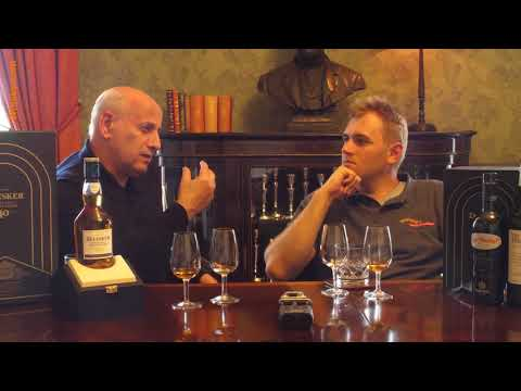 Whisky Review/Tasting: Talisker 40 years / Interview with Colin Dunn (Diageo)