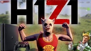 ОБЗОР H1Z1 на PS4 , Бесплатный Battle Royale на Playstation 4