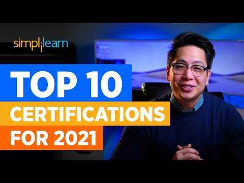 Top 10 Certifications For 2021 | Highest Paying Certifications | Best ...