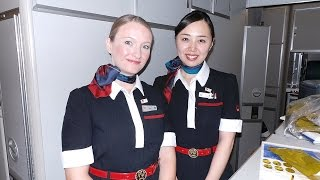 Japan Airlines First Class Experience - Tokyo to London Best Flight!