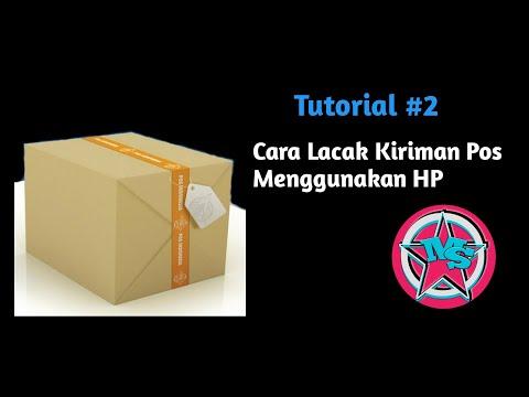 Cara Lacak Paket Kiriman Pos Menggunakan HP | Tutorial #2