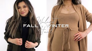Fall - Winter Affordable WALMART Try On Haul 2020   Cute Walmart Outfits Free Assembly   Miss Louie