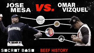 Jose Mesa got mad at Omar Vizquel, then threw baseballs at him for 5 years | Beef History thumbnail