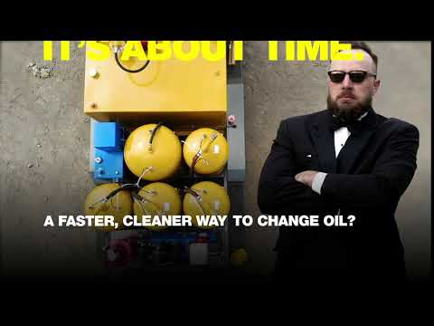 A Faster Cleaner Way To Change Oil