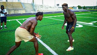 DOING 1ON1'S AGAINST TYREEK HILL! (FASTEST PLAYER IN THE NFL) FT. SAMMY WATKINS