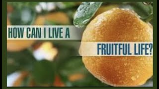 HOW CAN I LIVE A FRUITFUL LIFE--PLEASING GOD IN ALL I DO? IT WILL MATTER AT CHRIST'S BEMA SEAT!