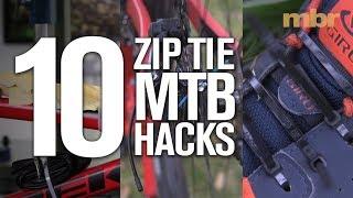 10 Zip Tie MTB Hacks | MBR