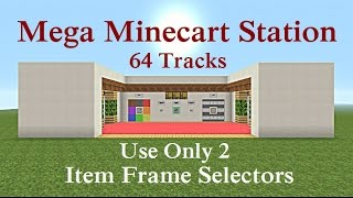 Minecraft Tutorial : Glass Item Elevator uses NO Ice or Pack