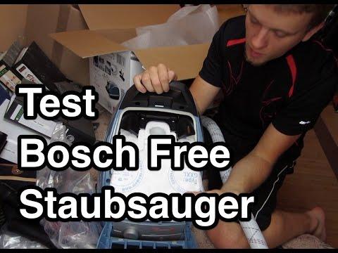 Test Bosch BSGL51338 Bodenstaubsauger | Staubsauger Test | Bosch free