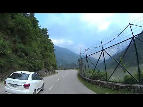 CHANDIGARH TO MANALI CAR DRIVE - HD
